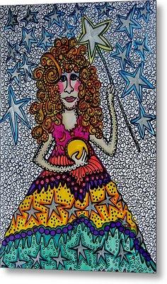 Star Wish  Fairy Metal Print by Gerri Rowan