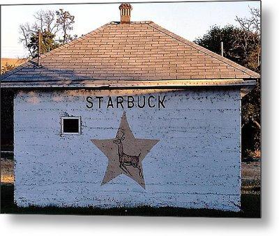 Starbuck Washington Metal Print