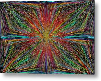 Starburst Metal Print by Tim Allen