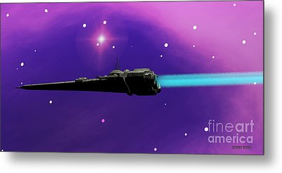 Starcruiser Metal Print by Corey Ford