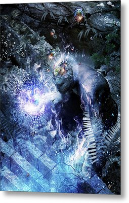 Stardust Metal Print by Cameron Gray
