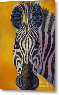 Stare Down Metal Print by Tracy L Teeter