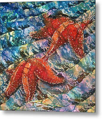 Starfish 1 Metal Print by Sue Duda