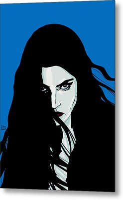 Staring In Anger Metal Print