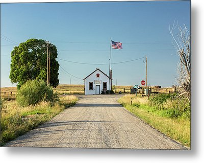 Starr Valley Community Hall Metal Print