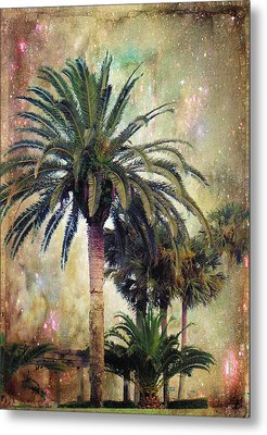 Starry Evening In St. Augustine Metal Print