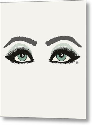 Metal Print featuring the painting Starry Eyed by Lisa Weedn