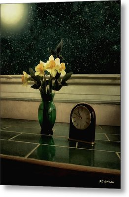 Starry Night In Spring Metal Print by RC deWinter