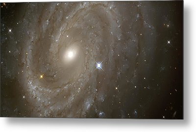 Stars And Spiral Galaxy Metal Print by Jennifer Rondinelli Reilly - Fine Art Photography
