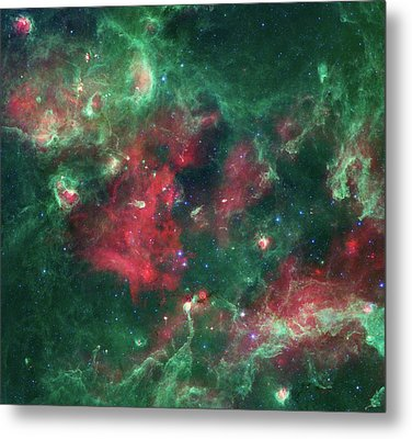 Metal Print featuring the photograph Stars Brewing In Cygnus X by Nasa
