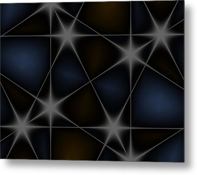 Stars Metal Print by Contemporary Art