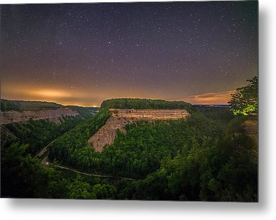 Metal Print featuring the photograph Stars Over Great Bend by Mark Papke