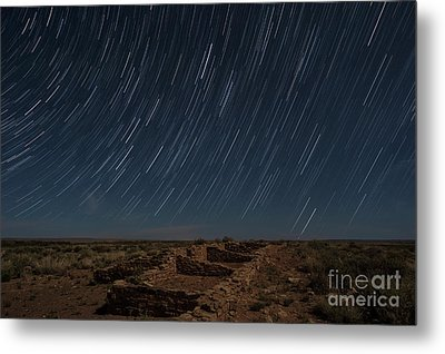 Stars Remain Unchanged Metal Print by Melany Sarafis