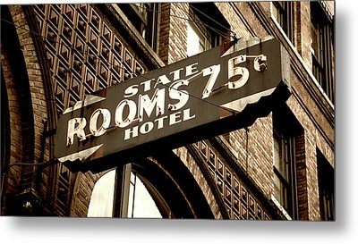 State Hotel - Seattle Metal Print