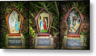Stations Of The Cross 1 Metal Print by Adrian Evans