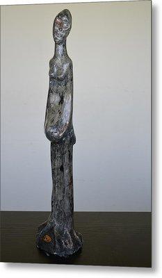 Statua Fertility Metal Print by Daniele Fedi