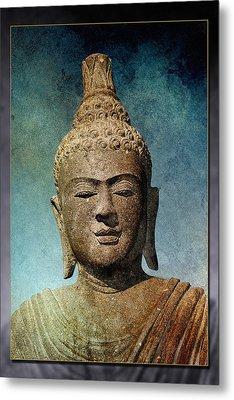 Statue 3 Metal Print by WB Johnston