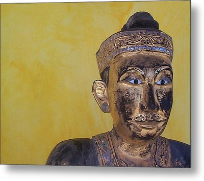 Metal Print featuring the photograph Statue by Mary-Lee Sanders