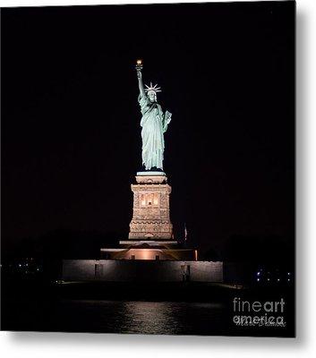 Statue Of Liberty Metal Print