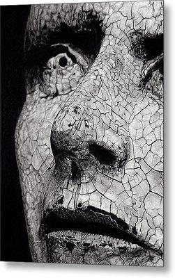 Statue Study Metal Print by Paul Burges