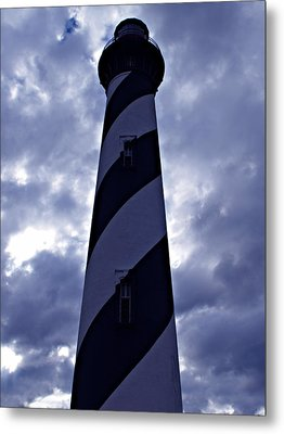 St.augustine Light House Metal Print