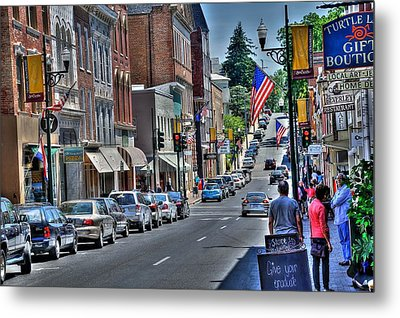 Staunton Down Town Metal Print by Todd Hostetter