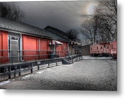 Staunton Va Train Depot Metal Print by Todd Hostetter