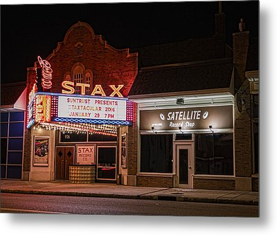 Stax Records - Memphis Metal Print
