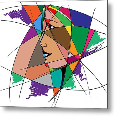 Staying Focused Metal Print by Stanley Mathis