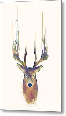 Steadfast Metal Print by Amy Hamilton