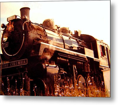 Steam Engine 3716 Metal Print