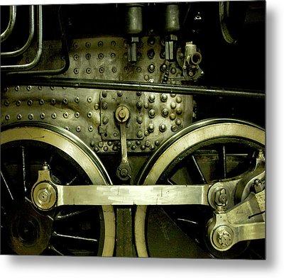 Steam Power I Metal Print