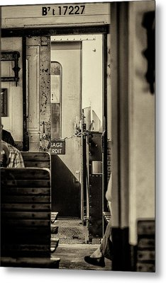 Metal Print featuring the photograph Steam Train Series No 33 by Clare Bambers