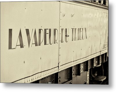 Metal Print featuring the photograph Steam Train Series No 34 by Clare Bambers