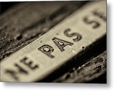 Metal Print featuring the photograph Steam Train Series No 35 by Clare Bambers