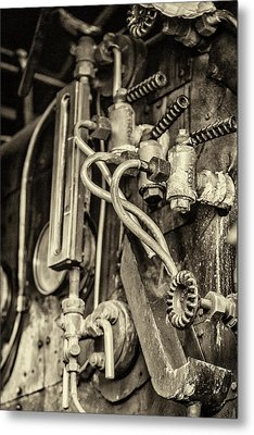 Metal Print featuring the photograph Steam Train Series No 36 by Clare Bambers