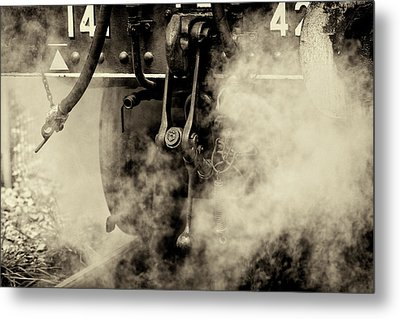 Metal Print featuring the photograph Steam Train Series No 4 by Clare Bambers