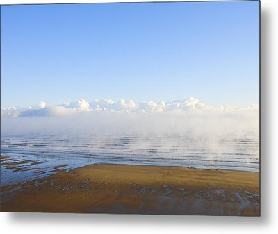 Steaming Up Metal Print by Svetlana Sewell