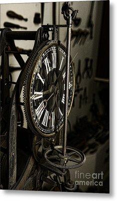 Steampunk - Timekeeper Metal Print by Paul Ward