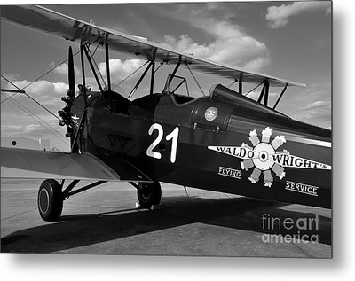 Stearman Biplane Metal Print by David Lee Thompson