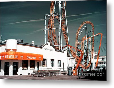 Metal Print featuring the photograph Steel's Fudge by John Rizzuto