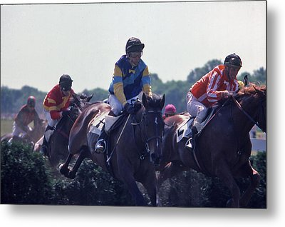 Steeplechase - 3 Metal Print by Randy Muir