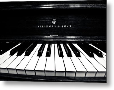 Steinway And Sons Metal Print by Sam Hymas