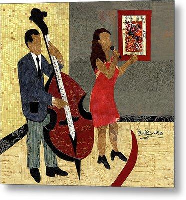 Steinway Jazz Duo Metal Print