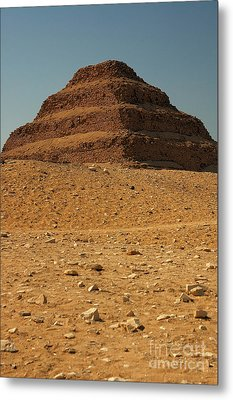 Step Pyramid Metal Print by Joe  Ng