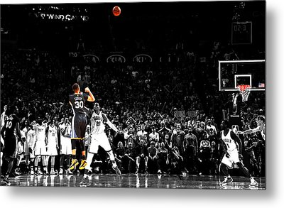Steph Curry Its Good Metal Print