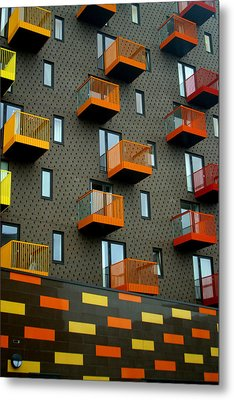 Stepped Living Metal Print by Jez C Self