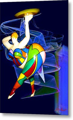 Steppin Out Metal Print by Michael Durst