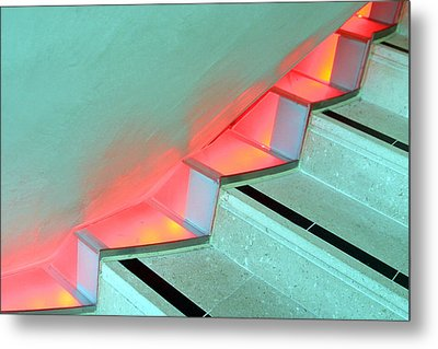 Steppin Up Metal Print by Jez C Self