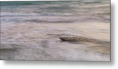 Metal Print featuring the photograph Stepping Stone by Alex Lapidus